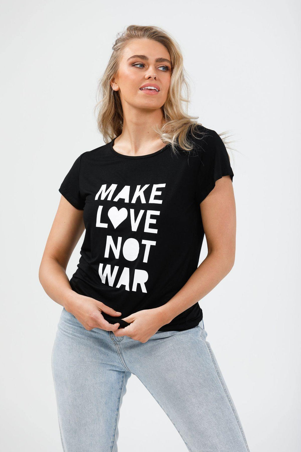 Love is a Verb Tee by Brave and True