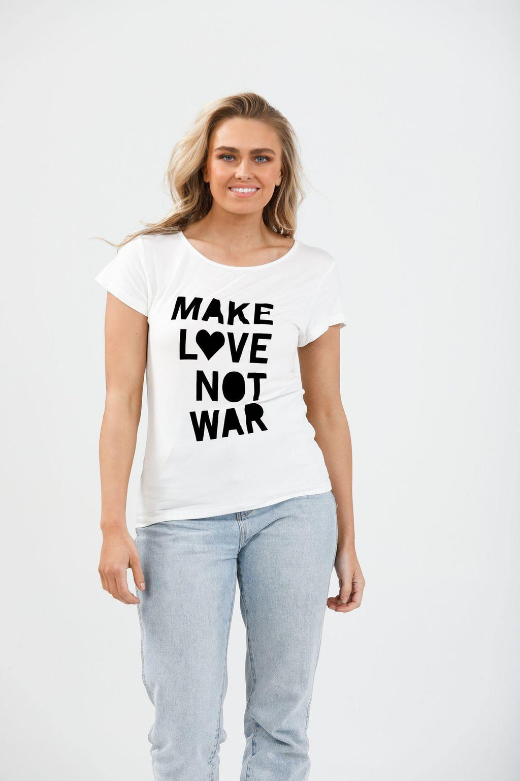 Make Love Not War by Brave + True