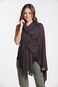 Bamboo Body Bamboo Cashmere Wool Blend Travel Wrap style {{product.sku}} - buy from Weekends on 2nd Ave at {{shop.url}} or visit our shop at Second Ave Plaza on the corner of Beaufort Street & Second Avenue Mount Lawley WA