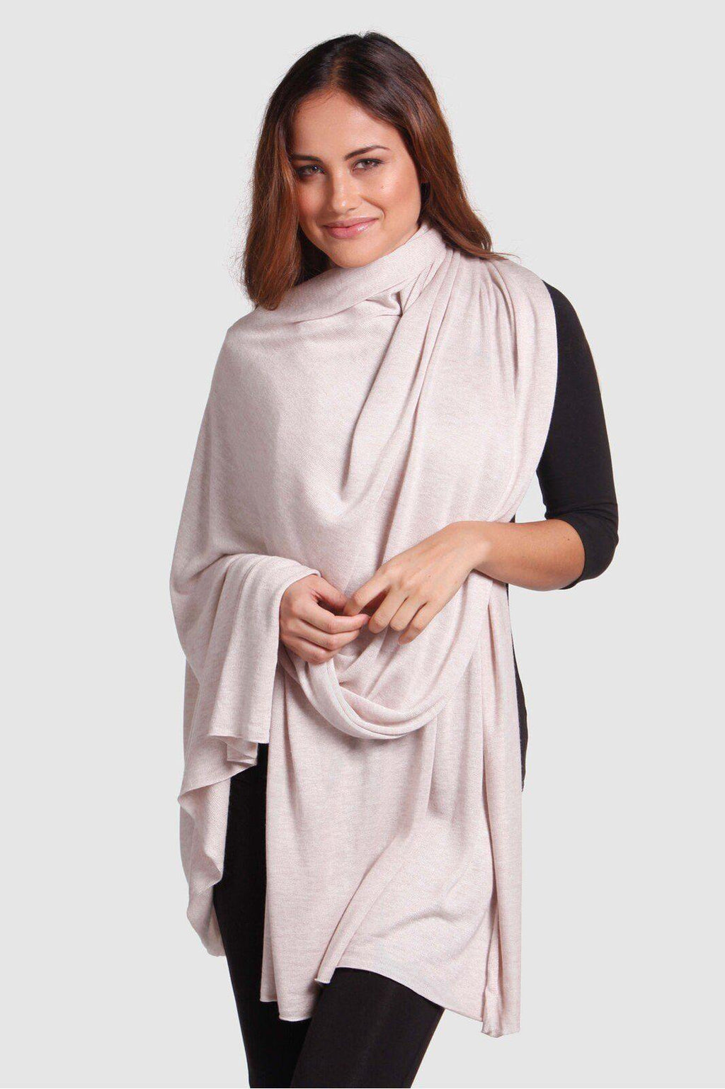 Bamboo Body Bamboo Cashmere Wool Blend Travel Wrap | Buy Online at Weekends
