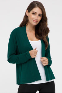 Bamboo Body Everyday Cardi - Dark Emerald | Buy Online at Weekends