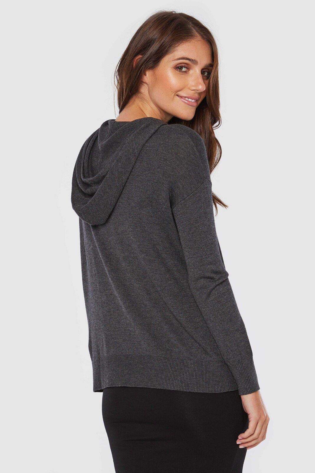 Bamboo Body Knit Bamboo Hoodie style {{product.sku}} - buy from Weekends on 2nd Ave at {{shop.url}} or visit our shop at Second Ave Plaza on the corner of Beaufort Street & Second Avenue Mount Lawley WA
