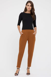 Bamboo Body Peggy Bamboo Trouser - Ginger | Buy Online at Weekends
