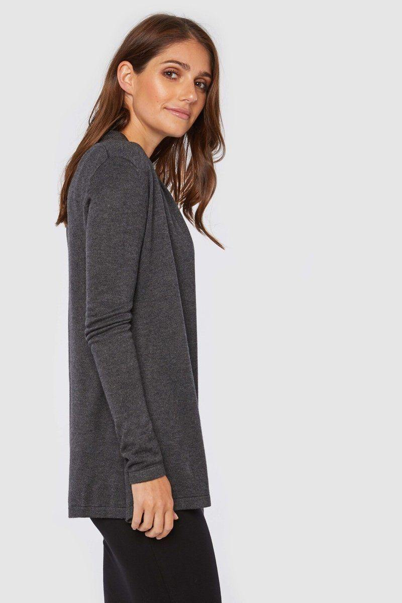 Bamboo Body Duster Jacket - Charcoal | Buy Online at Weekends