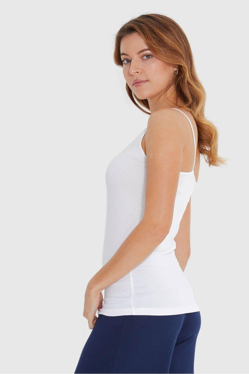 Bamboo Body Lucia Cami - White | Buy Online at Weekends