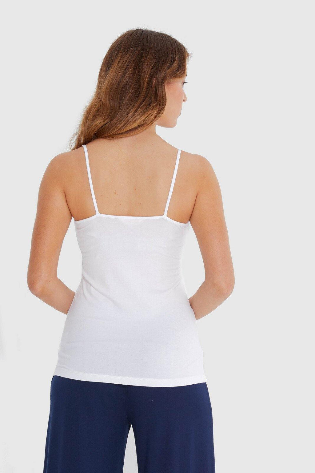 Bamboo Body Lucia Cami - White - Weekends