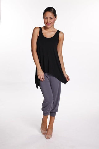 Bamboo Body Summer Slouch Pant - Grey | Buy Online at Weekends