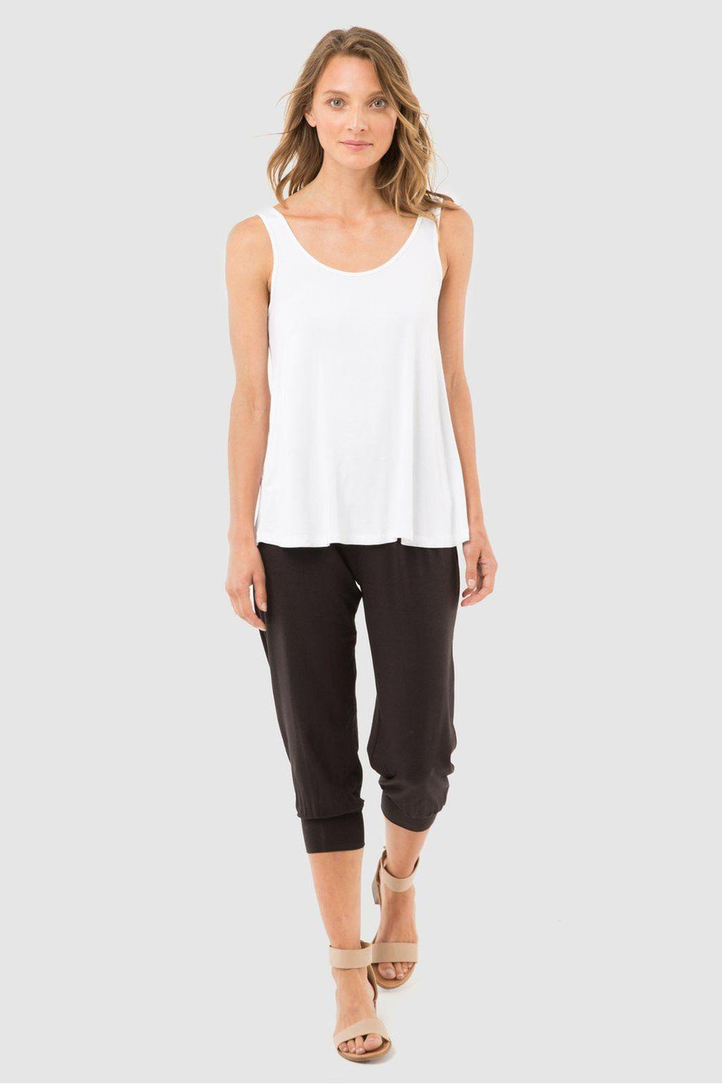 Bamboo Body Summer Slouch Pant - Black