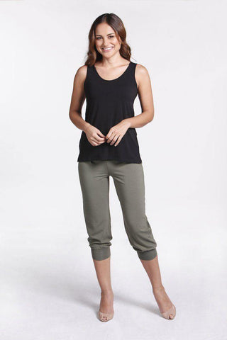 Bamboo Body Summer Slouch Pant - Lichen | Buy Online at Weekends