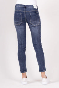 Barbera Button Fly Jeans by Bianco - Weekends on 2nd Ave
