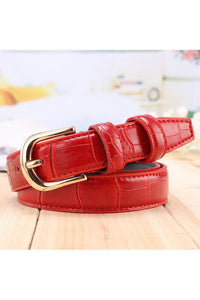 Bug & Bear Genuine Leather Crocodile Texture Belt | Buy Online at Weekends