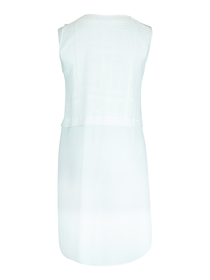 Cotton Chiffon Vest with Zip - La Strada | Buy Online at Weekends