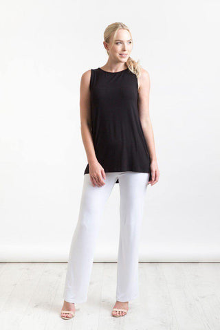 Bamboo Body  Softline Essential Pants - White | Buy Online at Weekends