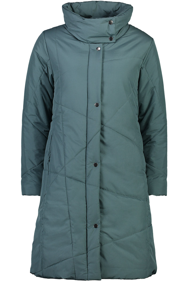 Major Tom Puffer Jacket by Foil in Washed Teal