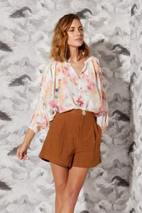 Wuthering Heights Silk Top by Fate + Becker