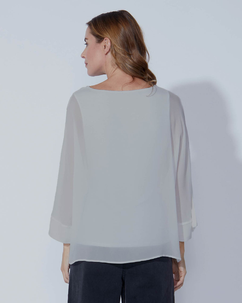 Fate + Becker The Willow Top - Silver Grey | Buy Online at Weekends