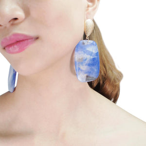 Bug & Bear Acrylic Statement Earrings - Weekends on 2nd Ave