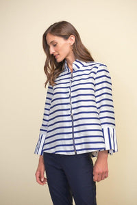 Short Sleeve Summer Jacket by Joseph Ribkoff