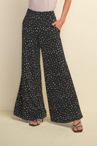 Black and White Palazzo Pant by Joseph Ribkoff - Weekends on 2nd Ave