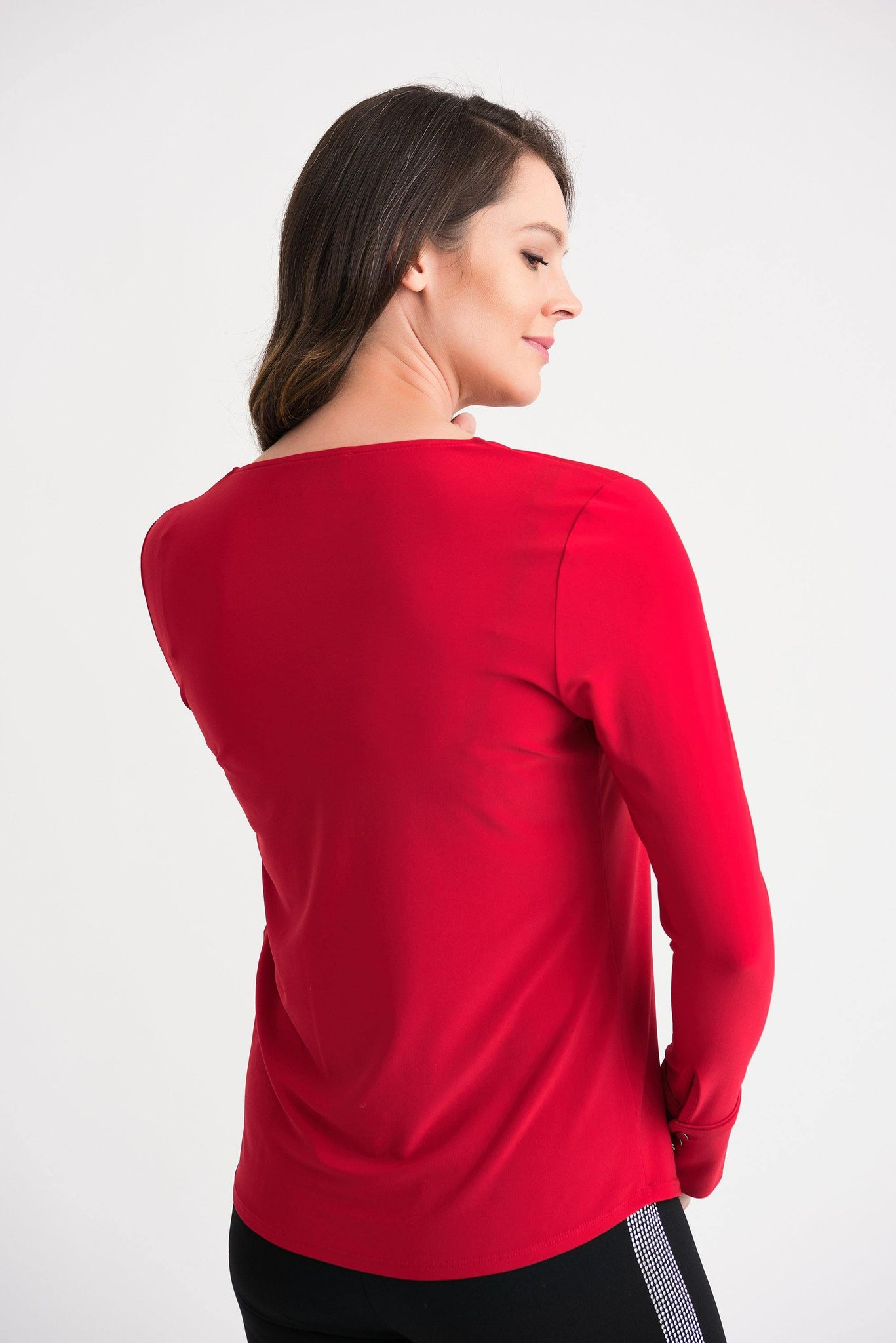 V-neck Blouse by Joseph Ribkoff - Weekends on 2nd Ave