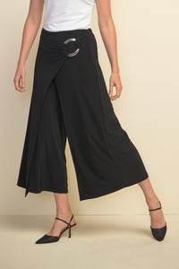 Wide Leg Capris Pants by Joseph Ribkoff - Weekends on 2nd Ave