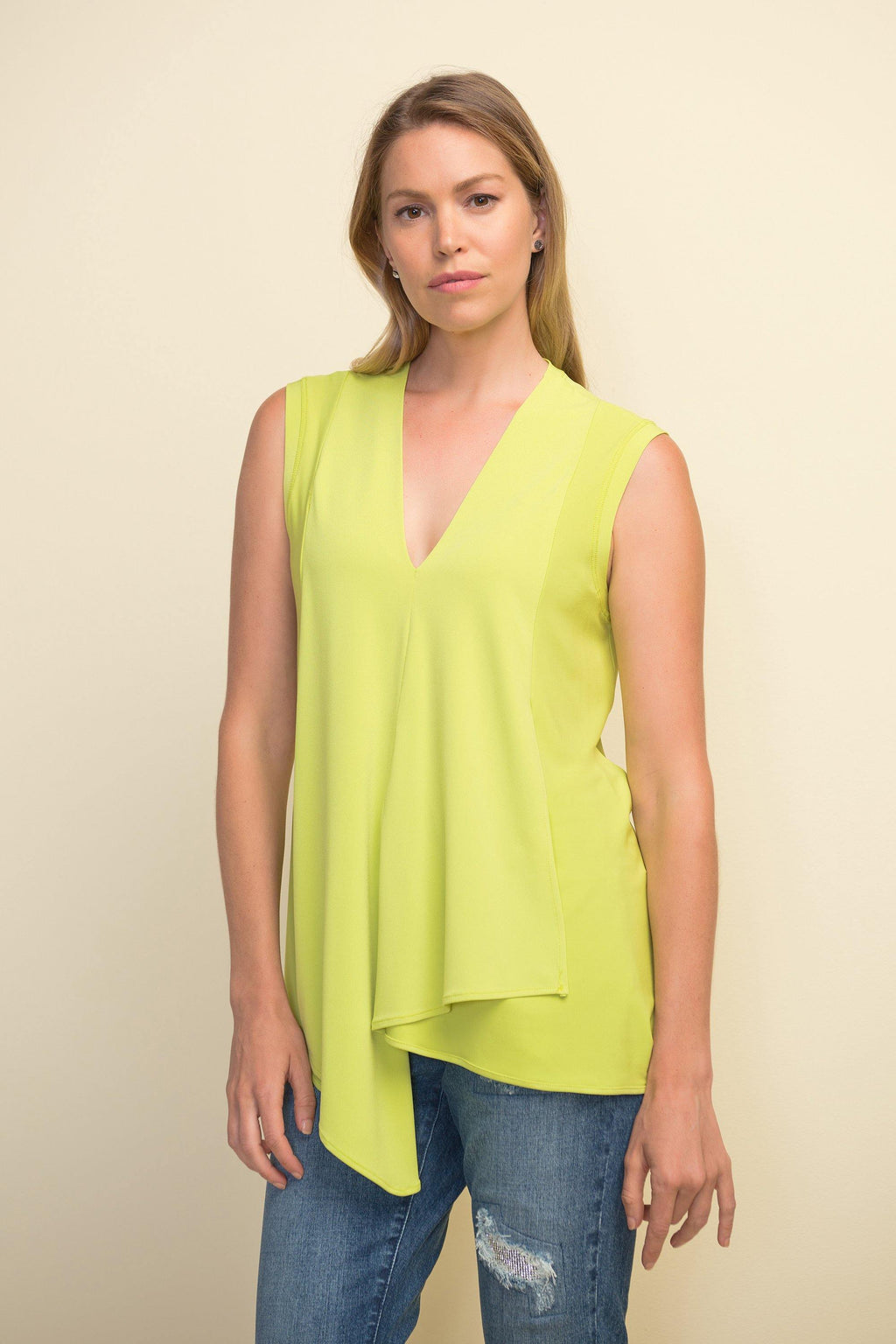 Joseph Ribkoff V-Neck Sleeveless Style 161060