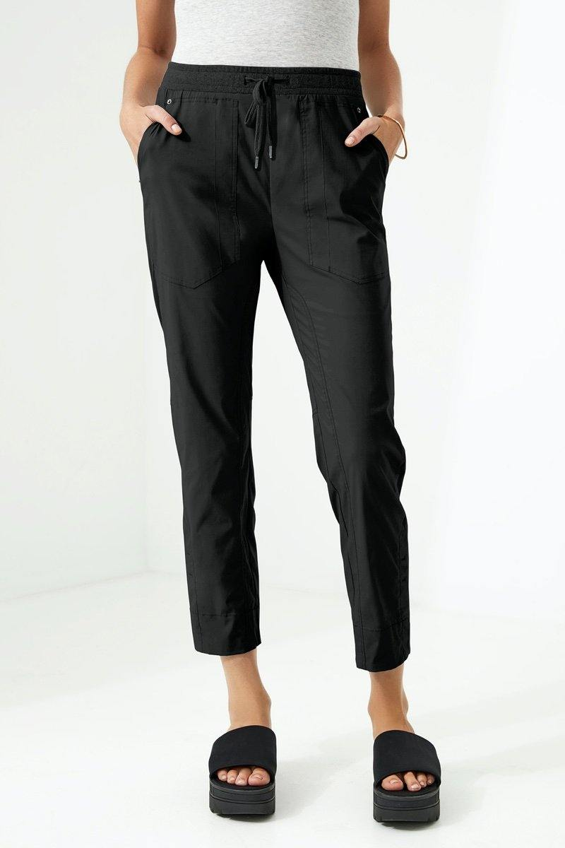 Port 7/8 Pant by Lania The Label in Black - Weekends on 2nd Ave
