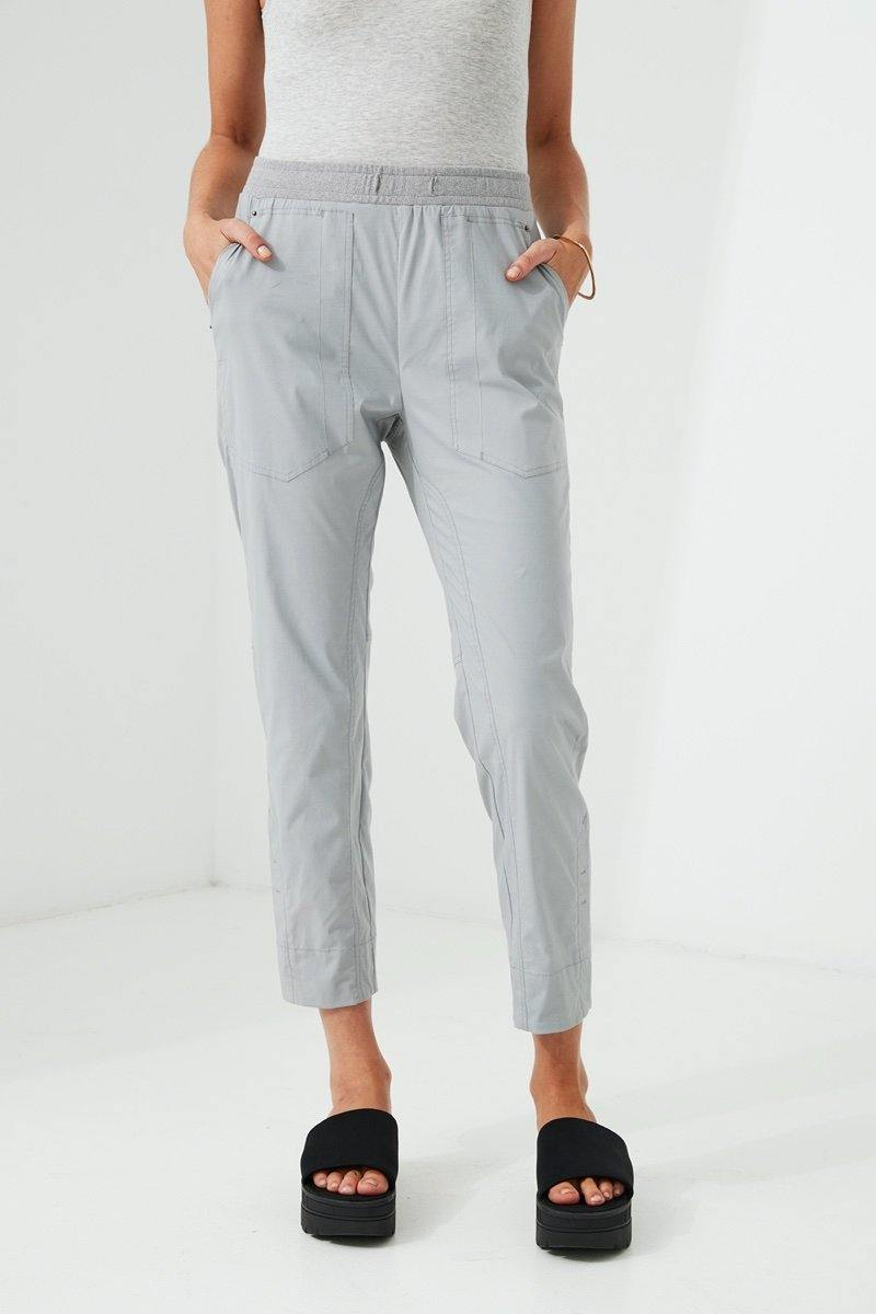 Port 7/8 Pant by Lania The Label in Nickel