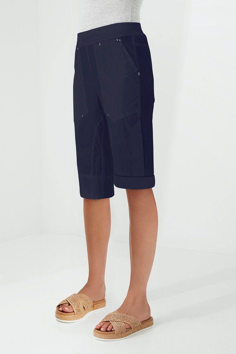Cuffed Short by Lania The Label in Navy