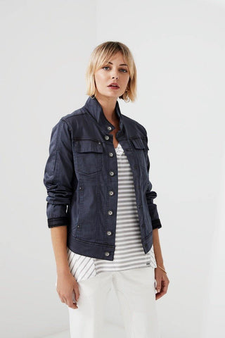 Signal Jacket in Steel by Lania The Label