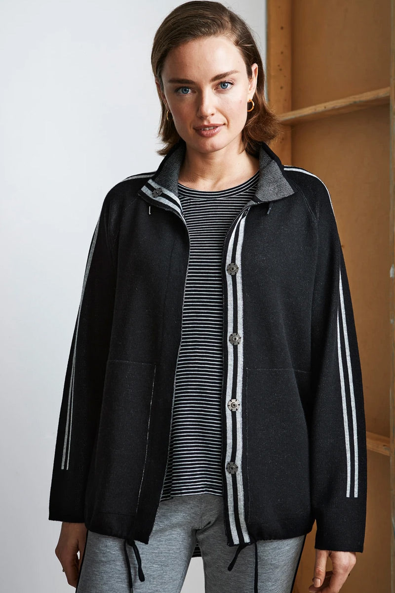 Urban Jacket in Black by Lania The Label