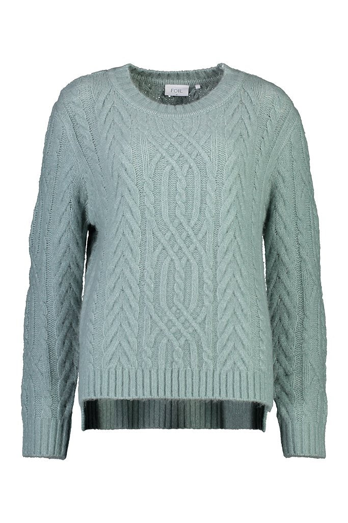 Linked in Sweater in French Blue by Foil