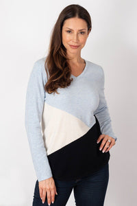 Long Weekend All Angles Jumper - Cool Blue | Buy Online at Weekends