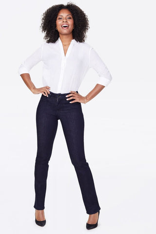 NYDJ Marilyn Straight Jeans - Rinse