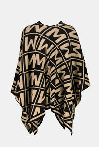Logo Cape Jacket by Monari