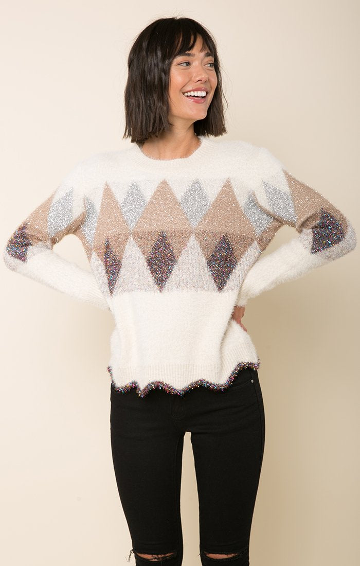 RAGA Dreaming of Diamonds Sweater | Buy Online at Weekends