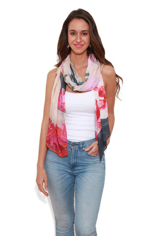 The Artists Label Miss Manhattan Scarf by Emma Menzies | Buy Online at Weekends