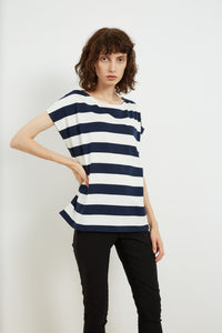 Tirelli Curved Shoulder Seam Tee