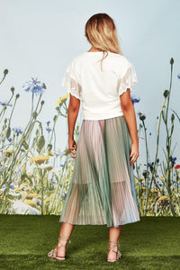 PLEAT PRAY LOVE Skirt from COOP by Trelise Cooper - Weekends on 2nd Ave