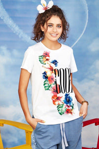 Hi-De-Hibiscus Tee from Coop by Trelise Cooper