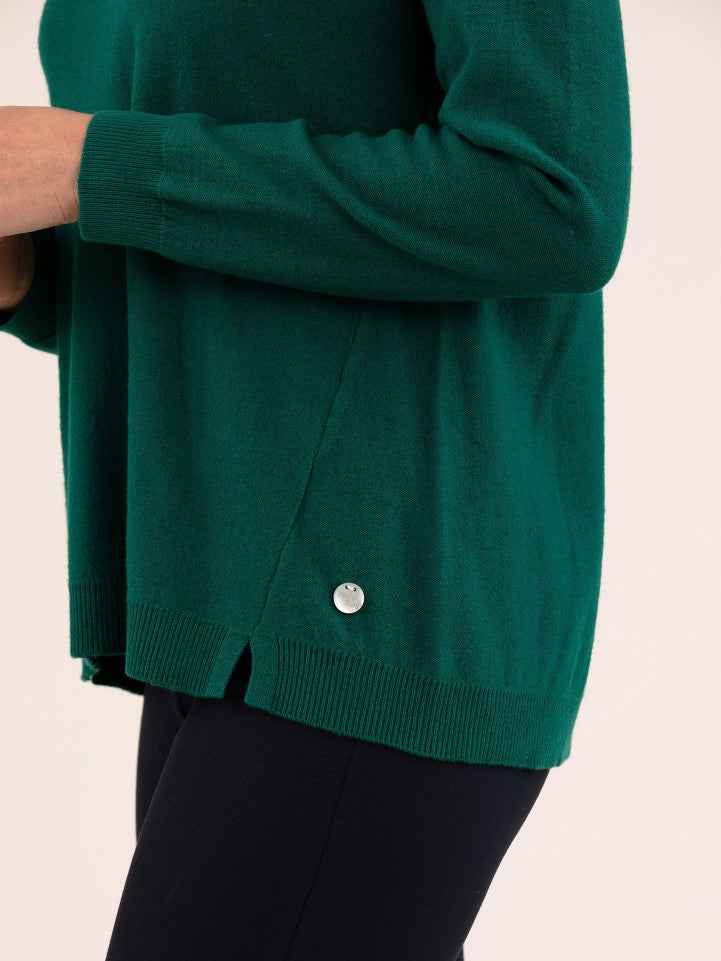 Yarra Trail Essential Knit - Evergreen | Buy Online at Weekends