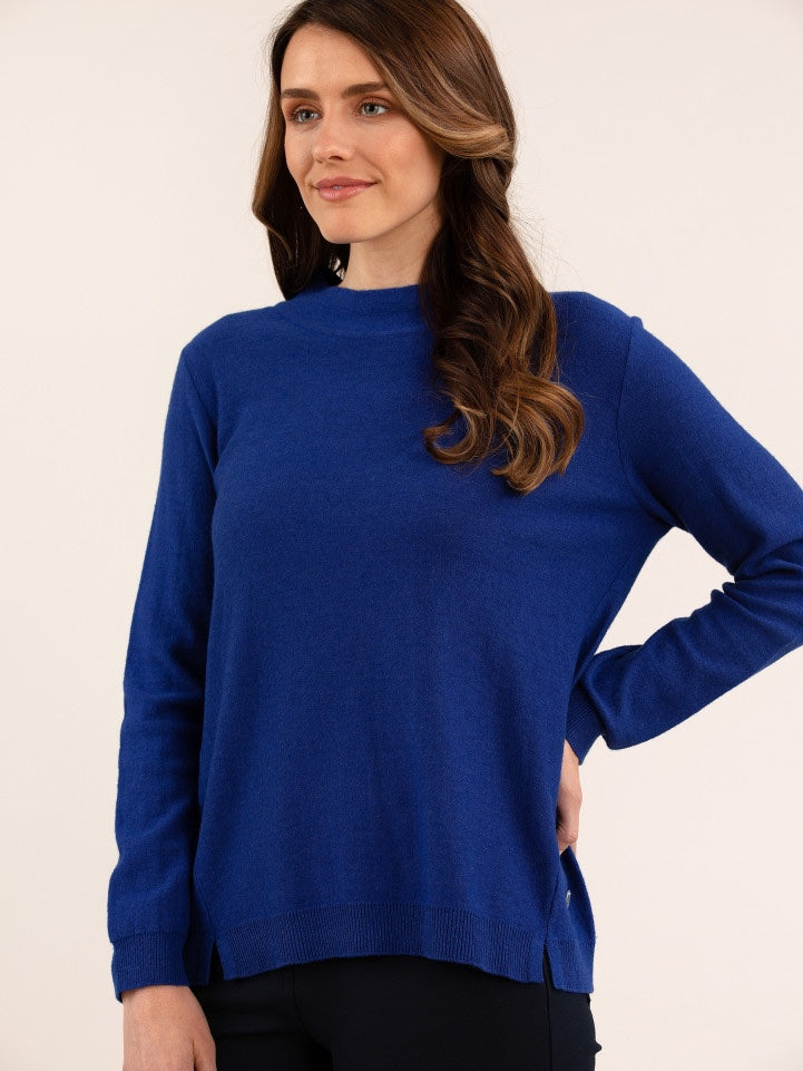 Yarra Trail Essential Knit - Lapis Blue | Buy Online at Weekends