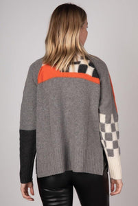 Check Detail Funnel Neck by Zaket & Plover - Weekends on 2nd Ave - Z & P