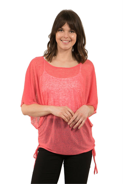 Caroline Morgan 2 Piece Side Tie Top T501256-Caroline Morgan-Weekends