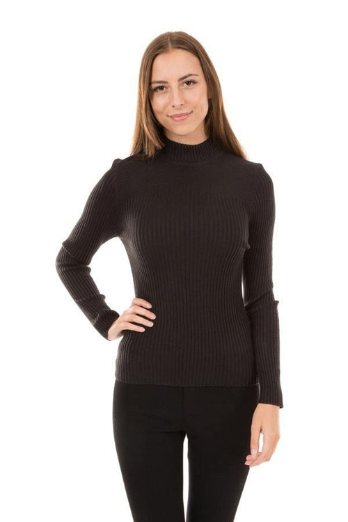Caroline Morgan Ribbed Skivvy - Various Colours KP65643-Caroline Morgan-Weekends