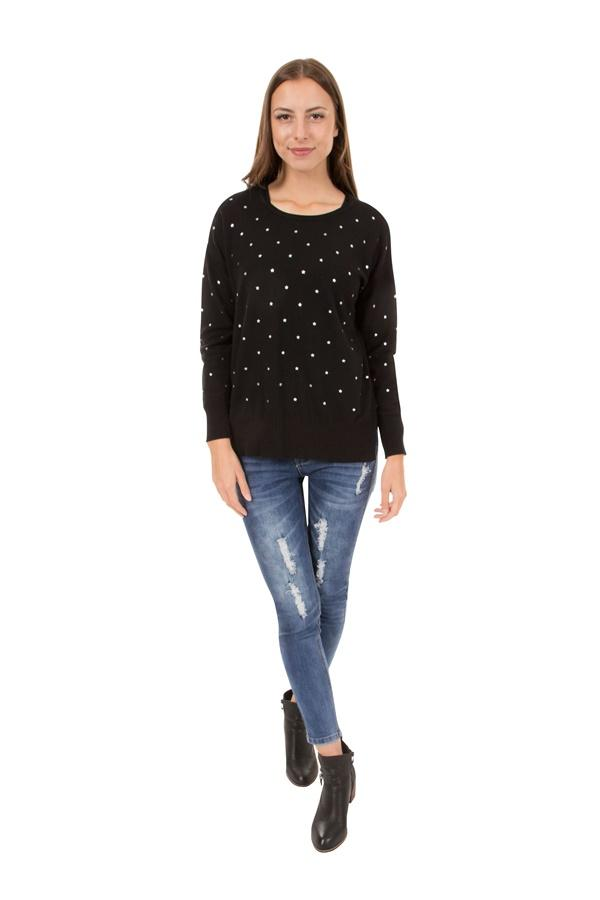 Caroline Morgan Star Jumper KP69025-Caroline Morgan-Weekends
