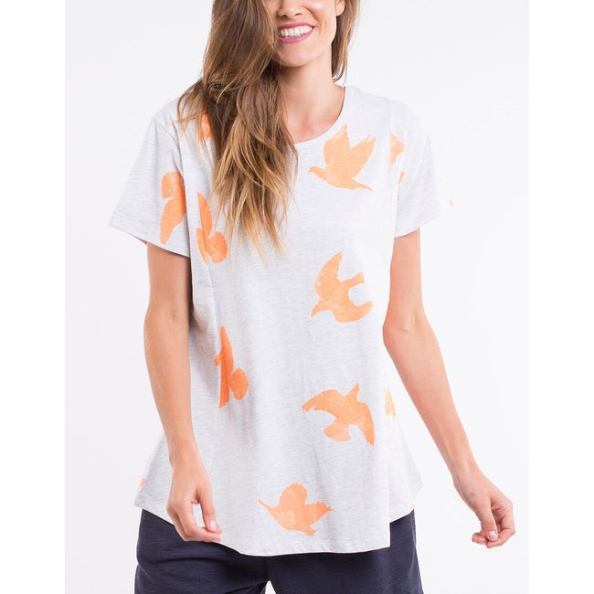 ELM LIFESTYLE Fly Away Tee 8107006-ELM LIFESTYLE-Weekends