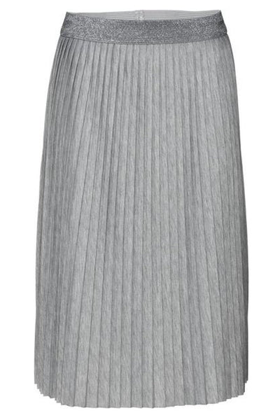 Jersey Plissee Skirt in Flint Melt by Monari 403759MNR-Monari-Weekends