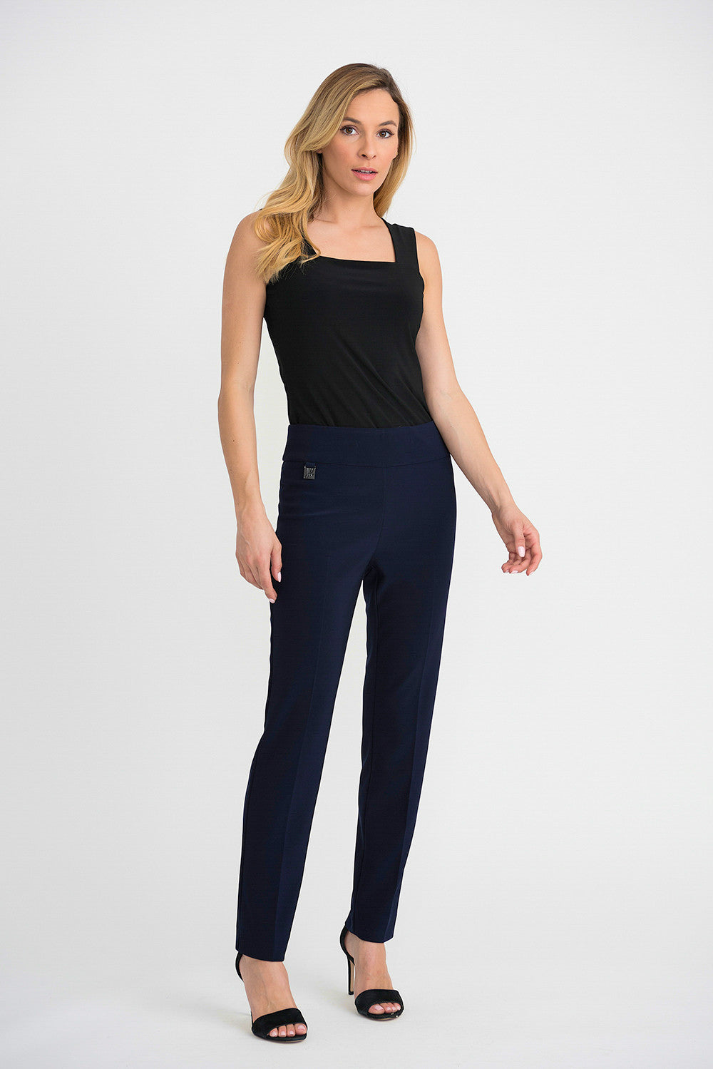 Joseph Ribkoff Contour Slim Fit Pant - Midnight Blue | Buy Online at Weekends