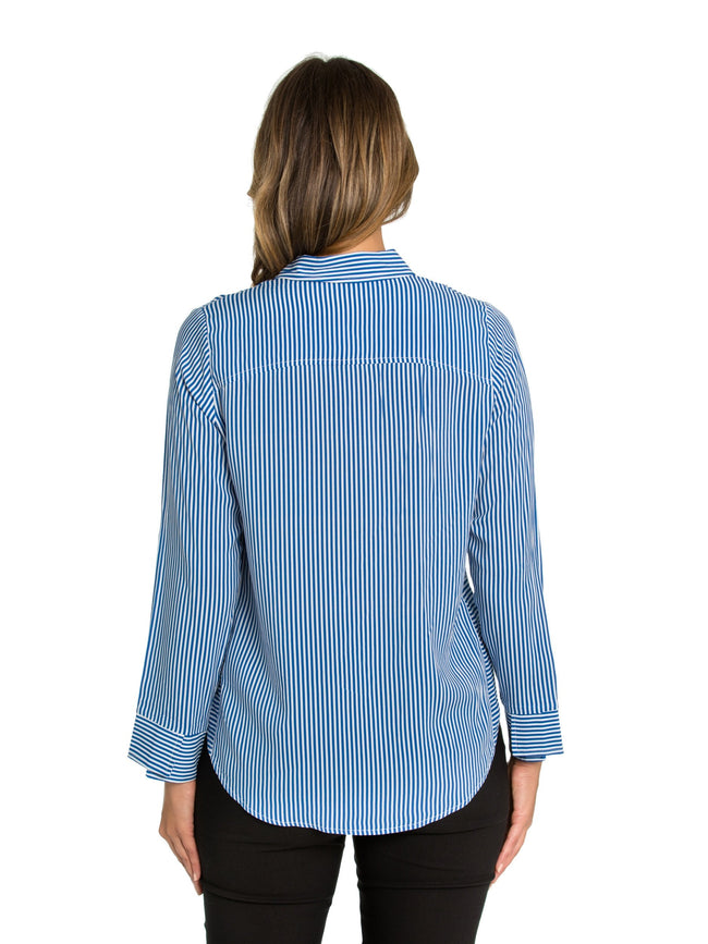 Marco Polo Fineline Shirt YTMW94175-Marco Polo-Weekends